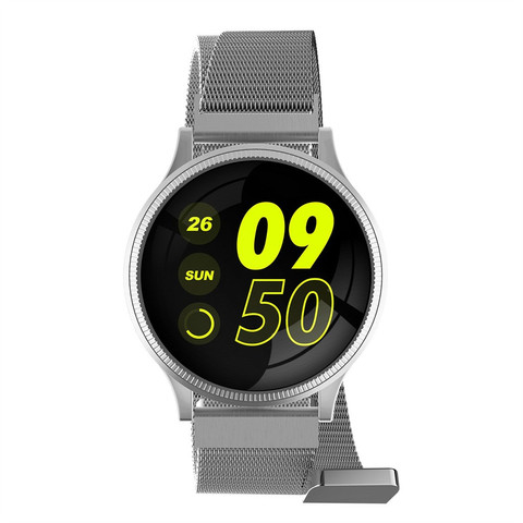 MK08 Heart Rate Blood Pressure Sleep Monitoring Smart Watch Sports Bracelet 1.22inch Sports 3 Colours For Ios For Xiaomi #20 #20 Lahore