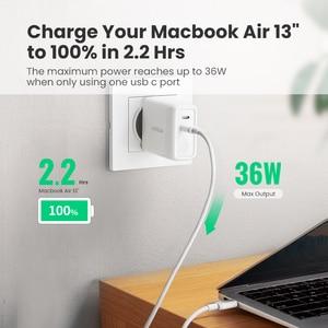 Image 4 - Ugreen 빠른 충전 4.0 3.0 아이폰 11 프로 XS 맥북 iPad QC 3.0 에 대한 PD36W USB PD 충전기 화웨이 충전기에 대한 USB 타입 C 충전기