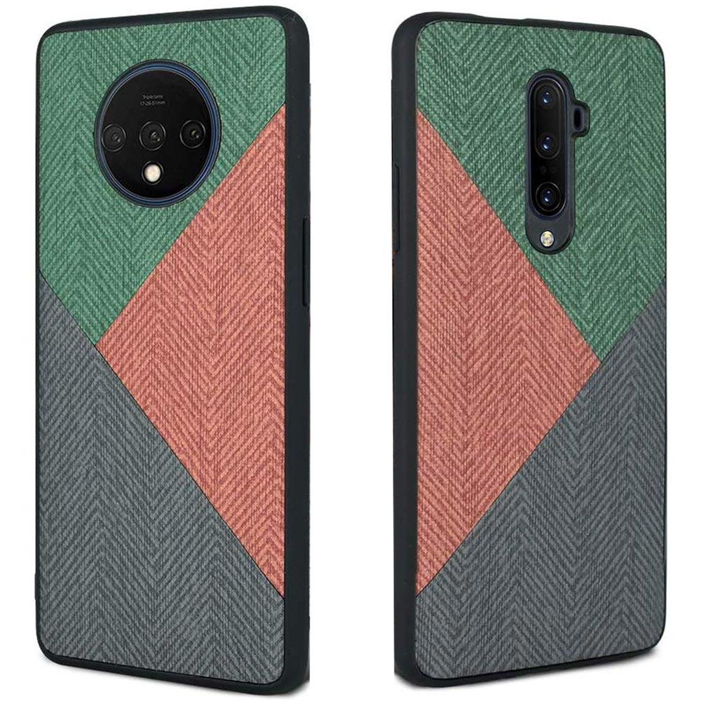 Shockproof Hard PC Tpu <font><b>Bumper</b></font> <font><b>Case</b></font> For <font><b>Oneplus</b></font> 7pro 7tpro 6 <font><b>6t</b></font> 7 7t t Pro Cloth fabric leather Soft Silicone Phone <font><b>Case</b></font> Cover image