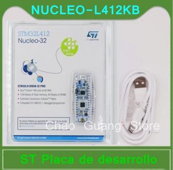 1 Uds NUCLEO-L412KB STM32L412 Nucleo-32 Placa de desarrollo brazo STM32L412KB MCU