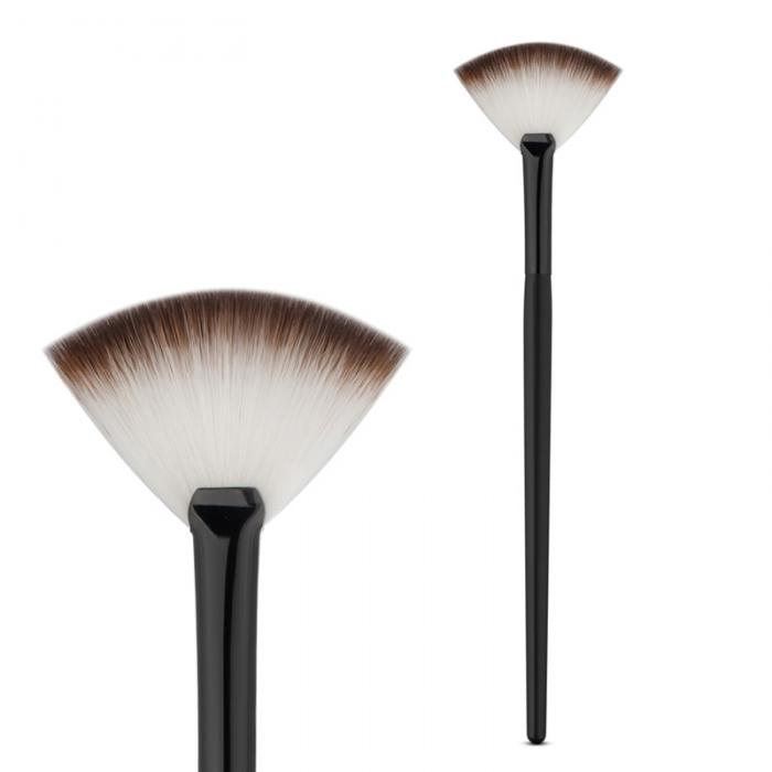 Fan Shape Powder Concealer Blending Brush Professional Highlighter Foundation Cosmetic Brush Women Make Up Accessories SMJ