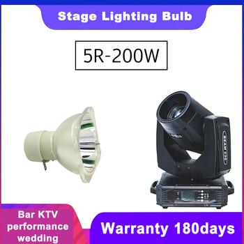Starlight 5R 200 W 7R 230W lampa ruchoma belka 200 lampa 5r wiązka 200 5r lampy metalohalogenkowe lampa msd platinum 5r tanie i dobre opinie NoEnName_Null Starlight 5R 200W compatible lamp 2000hrs 180days