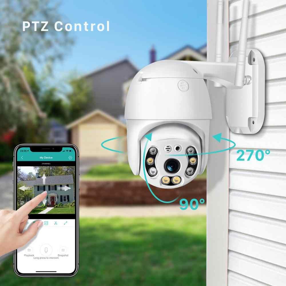 H.265 1080P Wifi камера наружная 2MP облачная PTZ камера скорость купольная; onvif беспроводная камера двухсторонняя аудио домашняя камера наблюдения IP