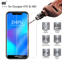 25 Pcs Tempered Glass For Doogee X70 X80 Screen Protector 2.5D 9H Protective Film