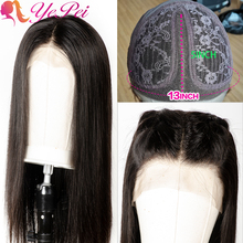 Brazilian Straight Lace Wig T Part Lace Front Human Hair Wigs Long Wigs For Black Women Preplucked 150% Density Remy Hair