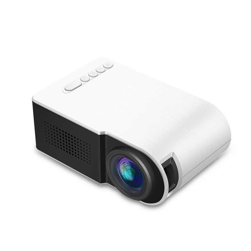 LED Mini Projector Home Theater Projectors Portable Full HD 3D Projector 7000 lumens TFT LCD Entertainment Video Multi-media
