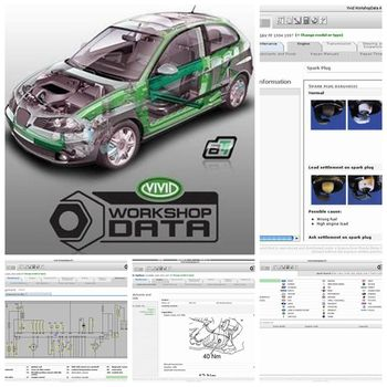 цена на Auto Software vivid workshop data v10.2 update to 2010 for repair software collection auto repair software vivid workshop data