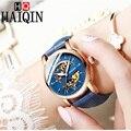 2019 nuevo HAIQIN, relojes de las mujeres de moda Simple de las mujeres reloj mecánico relojes para mujer reloj automático de las mujeres reloj femenino