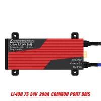 7s Bms 29 4 v Lithium Batterie Bms Ladespannung 29 4 v 80a 100a 120a 150a 200a Bms Pcm für e bike-in Batteriezubehörteile aus Verbraucherelektronik bei