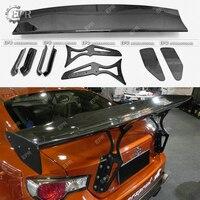 Carbon Wing Lip Trim For BRZ Rocket Bunny Ver 1 Carbon Fiber Rear Spoiler Body Kit Tuning For BR Z Racing Part