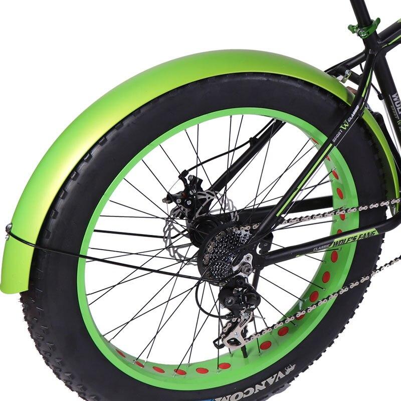 2PCS / Batch Bicycle Fender Fat Mountain Bike 26x4.0