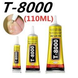 T-8000 110 мл Многоцелевой промышленный клей ювелирное ремесло горный хрусталь и гель для ногтей T8000 Сделай Сам телефонная рамка Фиксированный ...