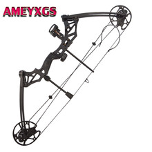 30 - 70 lbs Compound Arch Adjustable Right Hand Hunting Bows Adult Compound Bow For Outdoor Sports Bow Hunting Shooting Archery 60 inches recurve bow hybrid bow 30 70 lbs in black camo for right hand user archery bow shooting hunting
