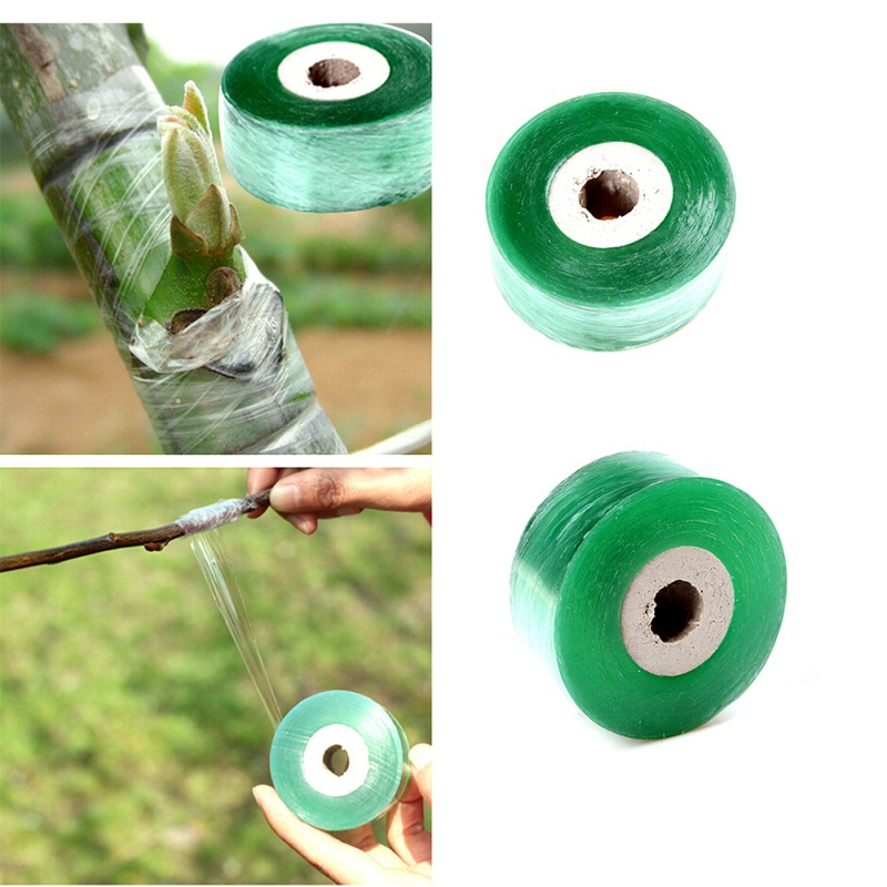 2CM X 100M / 1 Roll Fruit Tree Seedling Grafting Winding Film Grafting Tape Garden Tools