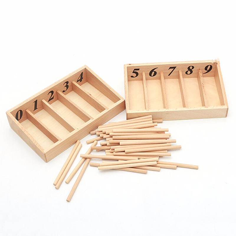 nova chegada montessori matematica brinquedos montessori materiais caixa de eixo de madeira educacional aprendizagem precoce brinquedo