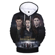 The Twilight Saga 3D Print Hoodies Men Women Fashion Casual Cool Pullover Unisex Harajuku Streetwear Hooded Sweatshirts