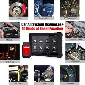 Image 3 - ANCEL herramienta de diagnóstico de coche X6 OBD2, escáner con Bluetooth, aceite ABS EPB DPF, inyector de acelerador, Airbag, reinicio de sistemas completos, escáner OBD2