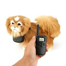 Remote Electric Shock Vibration Battery Power Pet Dog No Barking Anti Bark Training Collar Devices for 1 Dog(China)