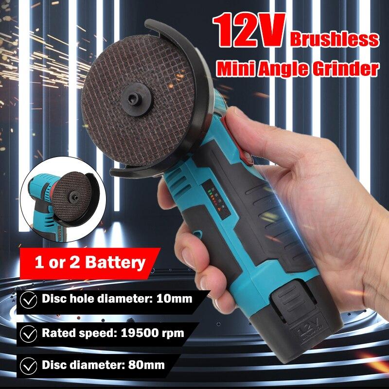 para el corte Inal/ámbrico /ángulo el/éctrico amoladora herramienta 18V Li-ion de 100 mm Herramienta el/éctrica Compatible con Makita bater/ía no incluida Sin escobillas amoladora angular esm