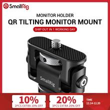 SmallRig Quick Release Camera Clamp Tilting Monitor Mount w/ Cold Shoe Dual EVF Support Mount Holder for Vlogging Video Rig 2431