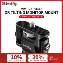 Smallrig Quick Release Camera Klem Kantelen Monitor Mount W/Koud Schoen Dual Evf Ondersteuning Mount Houder Voor Vlogging Video rig 2431