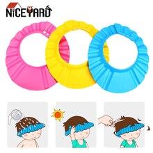 Shield Baby Hat Shower-Cap Protect Bathing Wash-Hair Adjustable Care NICEYARD Kids Children