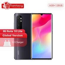 Global Version Xiaomi Mi Note 10 Lite Mobile Phones 6G 128G