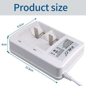 Image 3 - 2 Slots Led Display Smart Batterij Oplader Voor Ni Mh Ni Mh Nimh Nicd Aa/Aaa/C/D oplaadbare Batterij