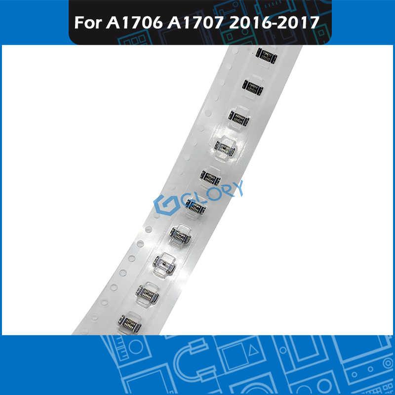 """Carte mère bouton marche arrêt connecteur pour MacBook Pro Retina 13 ''15"""" A1706 A1707 12 broches sur la carte mère 2016 2017"""