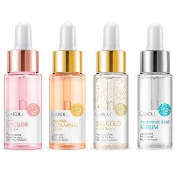 15ml Face Serum Gold Snail & Vitamin C Whitening Serum Hyaluronic Acid Skin Care