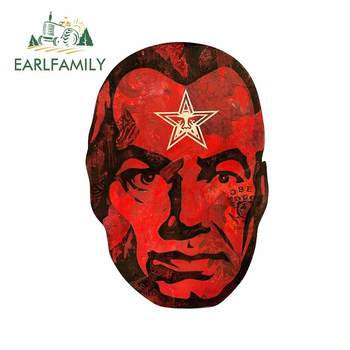 EARLFAMILY 13cm x 9cm for Big Brother Shepard Fairey Decal Laptop Motorcycle Scratch-Proof Windshield Car Stickers RV Decoration image