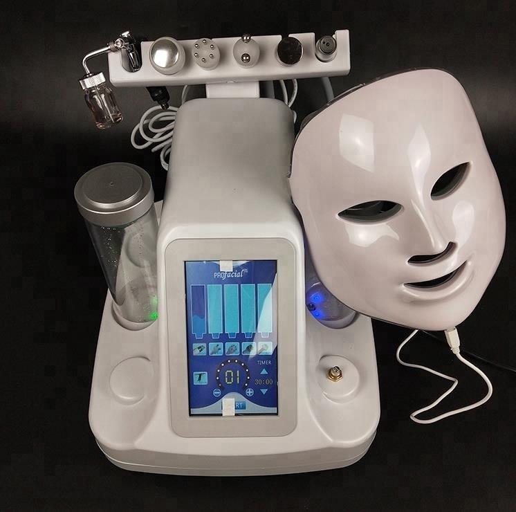 2020 chegada nova profissional máquina facial rosto profunda mais limpo cuidados com a pele multifuncional facial spa equipamentos - 3