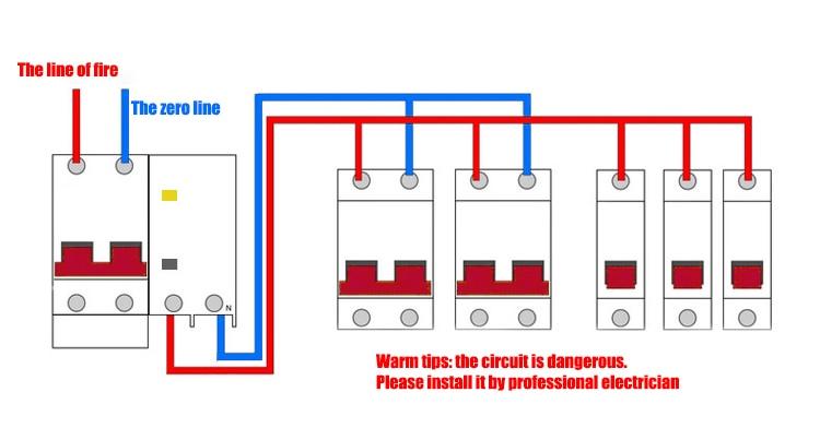 H6d93a74c3d954e0b8e46a5043171084a7 - TPN 1P mini circuit breaker MCB 10A,16A,20A,25A,32A mini DZ47 air switch C45 low voltage switch
