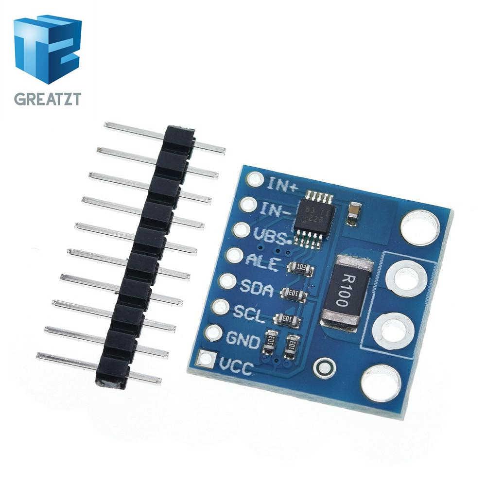 GREATZT INA226 IIC I2C interfaz bidireccional de corriente/módulo de sensor de monitoreo de potencia para Arduino