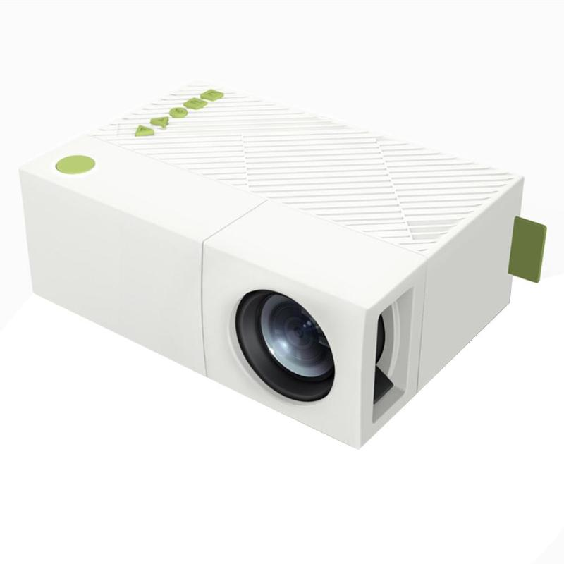 YG310 Mini LCD Projector 1080P HD LED Beamer USB TF AV HDMI 600 Multimedia Interfaces Video Proyector Home Theater