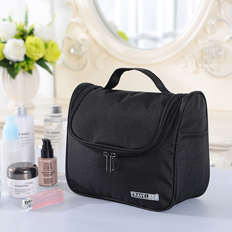 Travel Cosmetic Bag For Men Hanging Waterproof Big Capacity Hook Up Folding Wash Bath Storage Portable Women Toiletry Bag 336