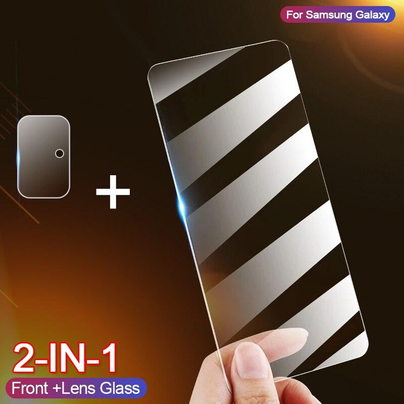 Vetro temperato per Samsung A71 A70 A51 A50 A31 A30 A20 A10 pellicola protettiva per schermo pellicola per Samsung Galaxy A71 A51 vetro