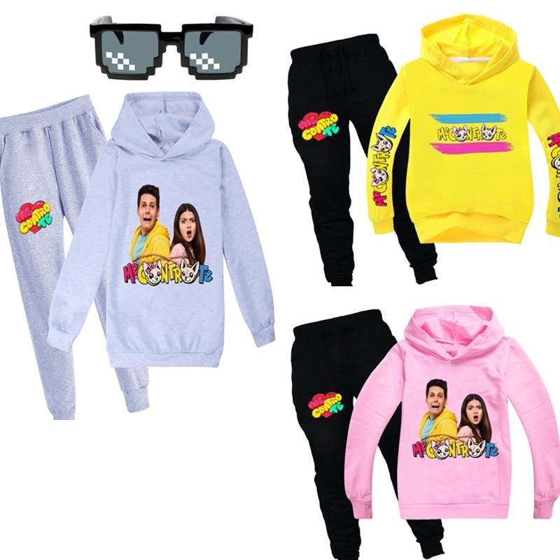 Toddler Girl Winter Clothes Long Sleeve Sweater Me Contro Te Cartoon Print for Girls Boys Full Kids Hoodies Clothing Sweatshirt 1