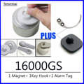 Магнит для снятия этикеток 16000GS система контроля Съемник этикеток безопасности + Съемный крючок для переносного ключа + датчики сигнализаци...
