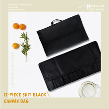 Qing Carry Case Knives Bag Durable Storage Chef Knife Roll Bag Kitchen Cooking Portable Storage 12 Pockets Carry Case Holder(China)