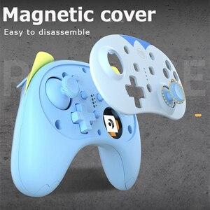 Image 5 - Controle para jogos de nintendo switch pro switch lite, controlador de jogos fofo sem fio com alça