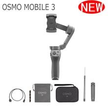 Складной DJI Osmo Mobile 3 Combo стабилизатор 3-осевой ручной карданный стабилизатор для смартфонов Gopro camera Phones Xs для телефона 8