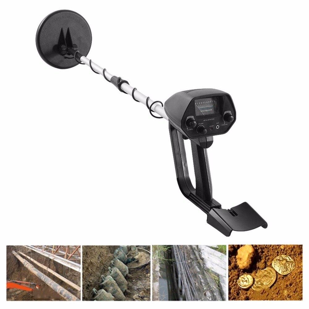 Detector de metais subterrâneo de pouco peso