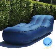 190x72x50cm Outdoor Furniture Inflatable Bed Seats Portable Air Sofa Chair Home Garden Beach Patio Furniture Air Couch Lounger cheap 210T oxford nylon ripstop CN(Origin) Modern Sun Lounger 190*72*50cm 2325185 BB1840 Inflatable lazy sofa bed Inflatable lounger