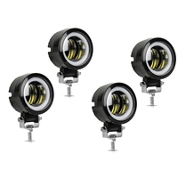 4Pcs 3 Inch Car Led Work Light 80W Pod Suv Lamp Lamp Offroad Atv For Jeep Work Light 4Wd