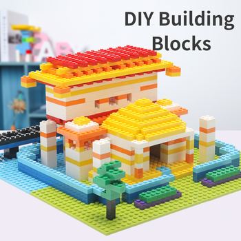 200Pcs Building Blocks DIY Creative Bricks Model Constructor Block Educational Stay Home Toys For Kids Birthday Gifts cheap blocks electronic constructor building block designer kits for kids discover electronic science project circuit educatio