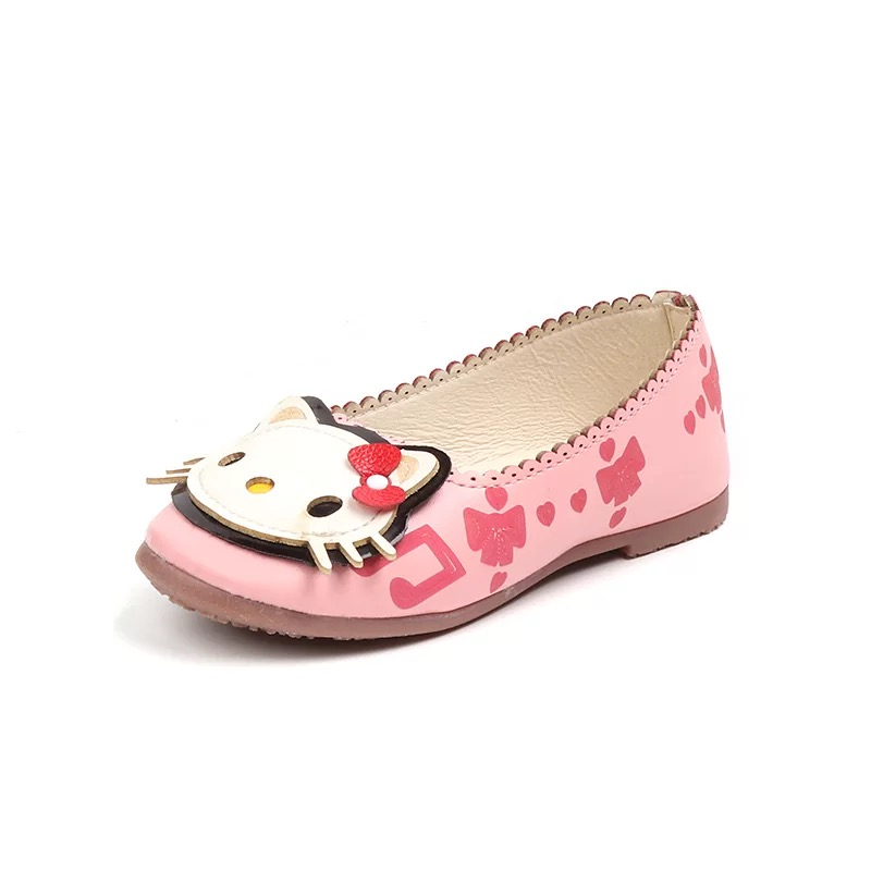 2019 Baby Girls Shoes PU Children Shoes Casual Kids Shoe Animal Prints For Girl Ayakkabı Pink Sapatos Casual Buty Spring Autumn