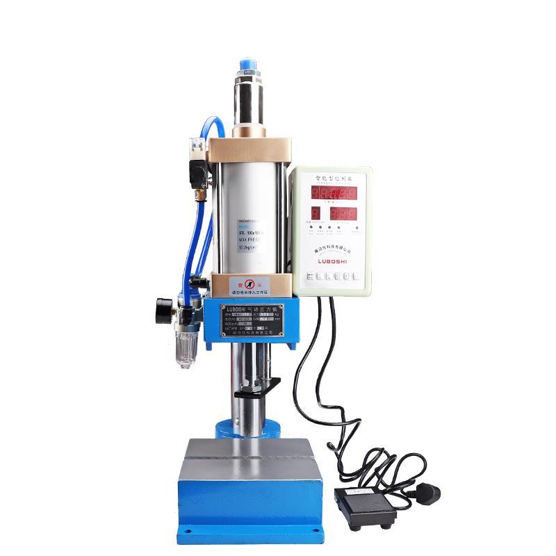 Pneumatische presse maschine kleine desktop punch maschine drücken 200KG