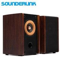 1 pair SounderLink Audio labs 3 inch passive full range monitor studio monitors speakers soundbox