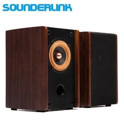1 par SounderLink Audio labs 3 pulgadas monitor pasivo de rango completo monitor de estudio altavoces soundbox
